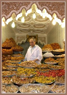 souks and sweets - Marrakech, Morocco