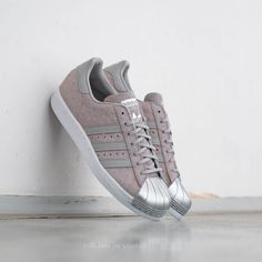 adidas Superstar 80s Metal Toe W Cool Grey/ Cool Grey/ Metallic Silver -  Footshop