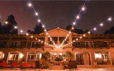 Backyard String Lights, Indoor String Lights, Backyard Lighting, Hanging Lights, Outdoor Pergola, Indoor Outdoor, Outdoor Living, Outdoor Decorative Lights, Porch And Balcony