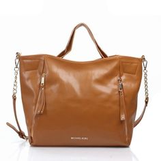 Michael Kors Mira Logo Large Brown Totes Is Hot Sale At Lower Price, High Quality And Fast Delivery!