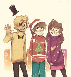 Belated Merry Christmas(it's almost new year, though…), Fallers! Isn't this fanart just adorable?! This fanart is made by Ikimaru, which I found on WeHeartIt! Thank you for bearing with my late-late-late posts and I!