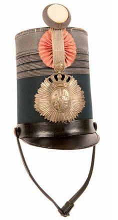 Morrión Brigadier de Infantería 1842
