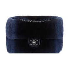 Orylag fur and lambskin flap bag Chanel ❤ liked on Polyvore featuring bags, handbags, black purse, lambskin bag, flap bag, lambskin purse and chanel handbags