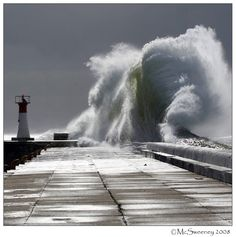 Picture taken at Kalk Bay Harbour during a huge storm in False Bay, Cape Town, South Africa. I could watch waves crashing all day. No Wave, Fuerza Natural, Tres Belle Photo, Huge Waves, Giant Waves, Cape Town South Africa, Tornados, Natural Phenomena, Extreme Weather