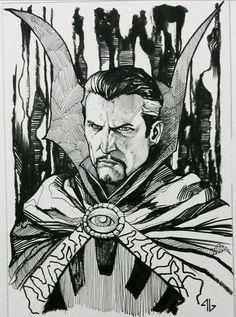 Doctor Strange by Adi Granov *