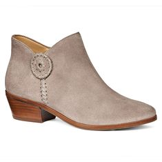 Peyton Bootie in Light Grey by Jack Rogers