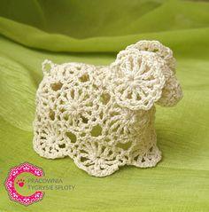 Guidelines - method learned in Japan Crochet Applique Patterns Free, Easter Crochet Patterns, Crochet Motif, Knit Crochet, Crochet Fairy, Crochet Angels, Irish Crochet, Easter Toys, Easter Art