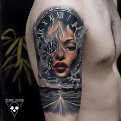 Tattoo braccio Incredible Tattoos, Great Tattoos, Tattoos For Guys, Life Tattoos, Body Art Tattoos, Arm Sleeve Tattoos For Women, Surreal Tattoo, Native Tattoos, Geniale Tattoos