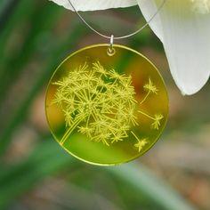 Laser etched pendant