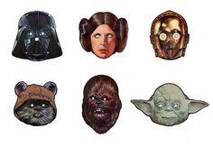 Star Wars Kids Party Ideas free mask