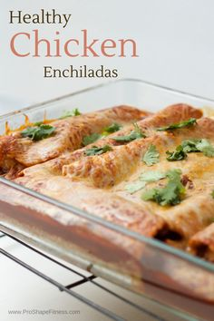 So not that I have anything against eating carbs, but your typical chicken enchiladas have very little chicken and whole LOTTA carbs. In a desperate attempt to not give up my beloved enchiladas, I created a healthier, carb-friendlier option that still tasted bombastic and made hitting my macros a hell of a lot easier.…