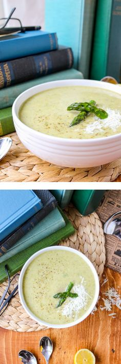 Simple Asparagus Soup #asparagus #soup #recipe