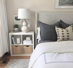 Get inspired by Modern Bedroom Design photo by Room Ideas. Wayfair lets you find the designer products in the photo and get ideas from thousands of other Modern Bedroom Design photos. Modern Bedroom Design, Contemporary Bedroom, Modern Contemporary, Modern Room Decor, Beautiful Bedroom Designs, Beautiful Bedrooms, Bedroom Layouts, Bedroom Ideas, Ikea Bedroom Decor