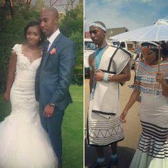 Congratulations to Mr & Mrs Maqungo Xhosa Attire, African Attire, African Dress, African Style, African Fashion, Women's Fashion, African Wedding Dress, Wedding Dresses, Traditional Weddings