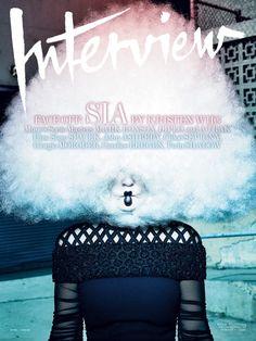 Sia por Gregory Harris para Interview Abril 2015 [Fashion]