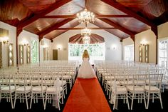 Our Stunning Chandelier lit Chapel