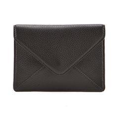 Jessica Jensen Petite Envelope Clutch in Black