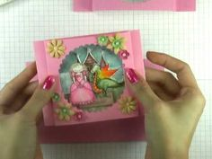How to Make a peek-a-boo greeting card « Papercraft