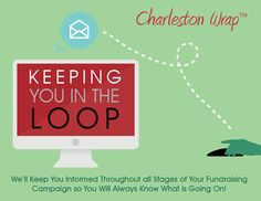 "We focus on ""keeping you in the loop"" during your fundraising campaign with emails detailing all stages of the fundraising process in regards to your school.  Just one more advantage in using Charleston Wrap as your #1 fundraising source….after all helping schools is our business!"