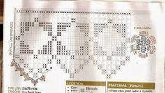 ATELIÊ ARTE DE BORDAR: Toalhas com barrado de crochê