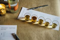 The Ultimate Guide To Hosting A Whiskey Tasting Party (& Free Printable Tasting Note Cards) — Roam + Go Lightly Wine Tasting Notes, Whisky Tasting, Tasting Menu, Tasting Room, Whiskey Room, Good Whiskey, Malt Whisky, Scotch Whisky, Mint Recipes