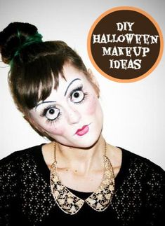 Eyes!!! 10 DIY halloween makeup ideas: The mermaid is especially fabulous
