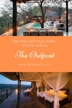 Take a peek inside this five-star game lodge in a wild and remote part of the Kruger National Park Kruger National Park, National Parks, Game Lodge, Best Games, Lodges, South Africa, Remote, Star, Cabins