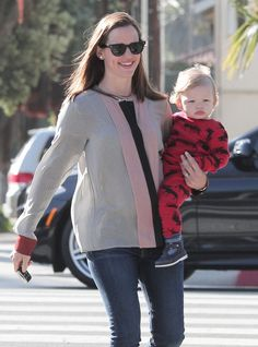 Jennifer Garner & Samuel: Cute & Cuter