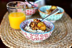 Bananas Foster Oatmeal   Blog: Simply Scratch