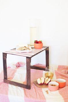 DIY Mini Picnic Tables
