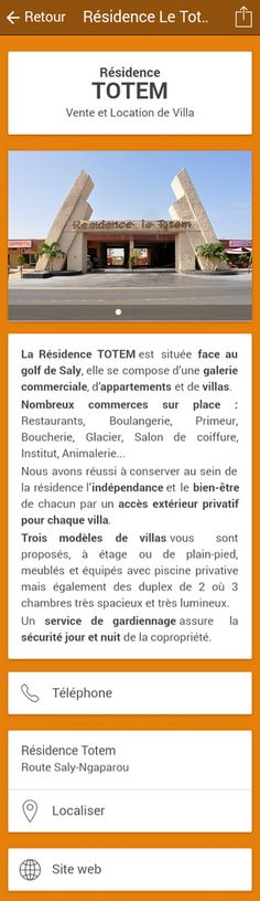 Immobilier : Résidence Totem