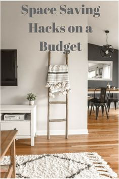 Looking for some space saving hacks on a budget. We have some great storage solutions for every room.
