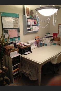 Shabby chic office organization, Interior BECoration, Becky Rollins Johnson