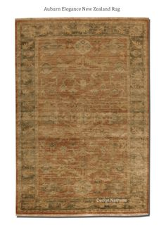 Auburn Elegance New Zealand Wool Rug