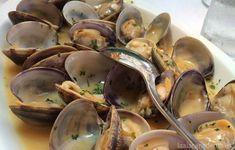 Muscheln a la marinera mit Thermomix - La Alacena de MO, Baked Yams, Your Recipe, Food Items, Food Preparation, New Recipes, Tapas, Curry, Dinner, Fruit