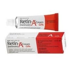 Retin-A (Tretinoin) is a topical form of vitamin A. It reduces the formation of pimples and promotes quick healing of pimples that do develop, especially in the case of blackheads, pimples and papules.