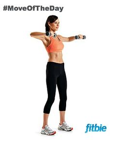 #MoveOfTheDay: Bent-Arm Lateral Raise and External Rotation, works #shoulders | Fitbie.com