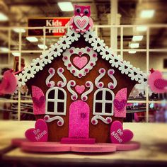 Valentine House from Michael's... too cute!