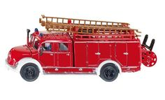 Die cast Magirus Auxiliary Fire Engine, part of the SIKU super series collection. Doors open and ladders can be removed.