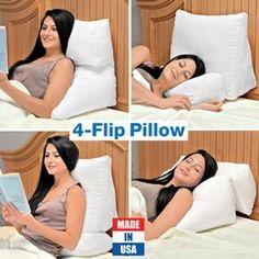 4 Position Flip Pillow @ Fresh Finds