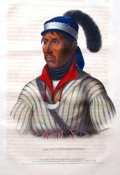Creek Indian Chief