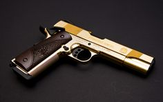 Gold plated 1911
