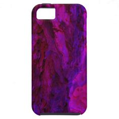 Purple Wood Bark Textures iPhone 5 Case From Florals by Fred #gift #photogift #zazzle