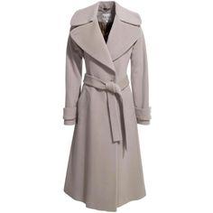 Lilac Belted Raglan Sleeve Coat ($308) ❤ liked on Polyvore featuring outerwear, coats, jackets, coats & jackets, reiss, women, woolen coat, draped wool coat, raglan sleeve coat and reiss coat