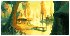 laketown colors by DawnElaineDarkwood.deviantart.com on @deviantART