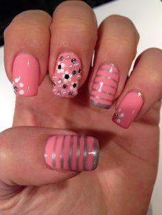 Nail art by 'nails by me 4 u'