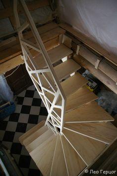 19 Ideas for villa stairs design modern Interior Stair Railing, Stair Handrail, Staircase Design, Railings, Steel Stairs, Loft Stairs, House Stairs, Stair Ladder, Building Stairs