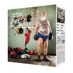 Forget about Alpine villages, Manhattan skylines and cute kittens, why not try this 1000 piece Boxer Jigsaw instead? This quirky 1000 piece jigsaw features an older age boxer, all dressed up ready for his next big fight. Best Birthday Gifts, Birthday Fun, Secret Santa, Puzzles, Der Boxer, Design3000, Shops, Games, Budget
