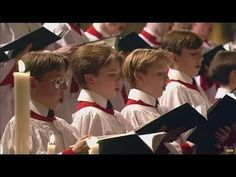 In The Bleak Midwinter : Choir of Kings College, Cambridge - YouTube