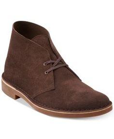 Clarks Men's Bushacre 2 Chukka Boot - Brown 10.5